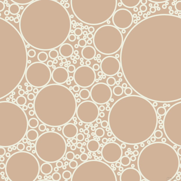 bubbles, circles, sponge, big, medium, small, 5 pixel line width, Sugar Cane and Cashmere circles bubbles sponge soap seamless tileable