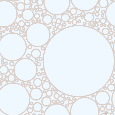 bubbles, circles, sponge, big, medium, small, 5 pixel line width, Swiss Coffee and Alice Blue circles bubbles sponge soap seamless tileable