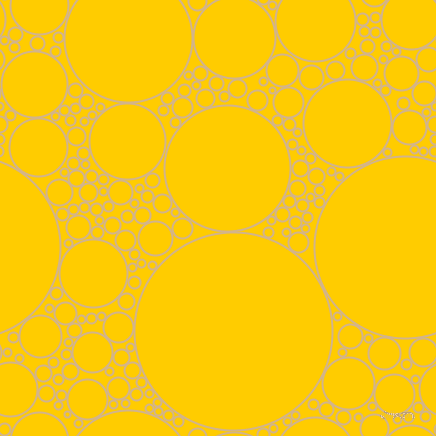 bubbles, circles, sponge, big, medium, small, 2 pixel line width, Tan and Tangerine Yellow circles bubbles sponge soap seamless tileable