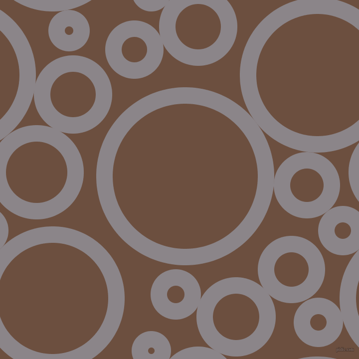 bubbles, circles, sponge, big, medium, small, 33 pixel line width, Taupe Grey and Spice circles bubbles sponge soap seamless tileable