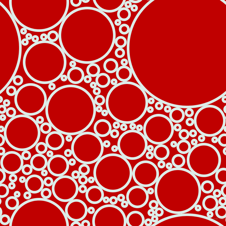 bubbles, circles, sponge, big, medium, small, 9 pixel line width, Tranquil and Free Speech Red circles bubbles sponge soap seamless tileable