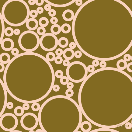 bubbles, circles, sponge, big, medium, small, 9 pixel line width, Tuft Bush and Yukon Gold circles bubbles sponge soap seamless tileable
