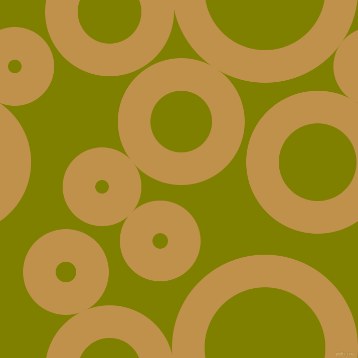 bubbles, circles, sponge, big, medium, small, 65 pixel line width, Tussock and Olive circles bubbles sponge soap seamless tileable