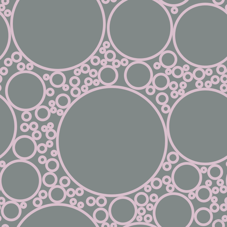 bubbles, circles, sponge, big, medium, small, 9 pixel line width, Twilight and Oslo Grey circles bubbles sponge soap seamless tileable
