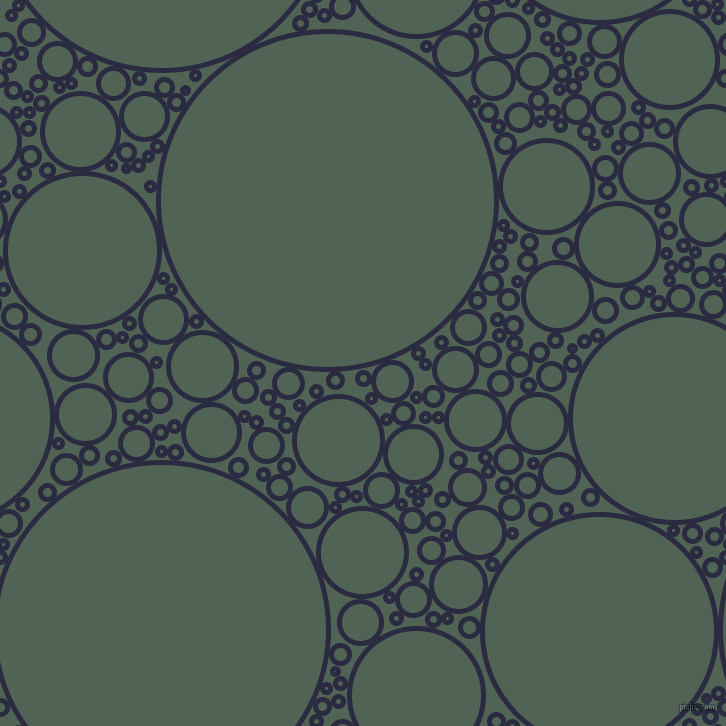 bubbles, circles, sponge, big, medium, small, 5 pixel line width, Valhalla and Mineral Green circles bubbles sponge soap seamless tileable