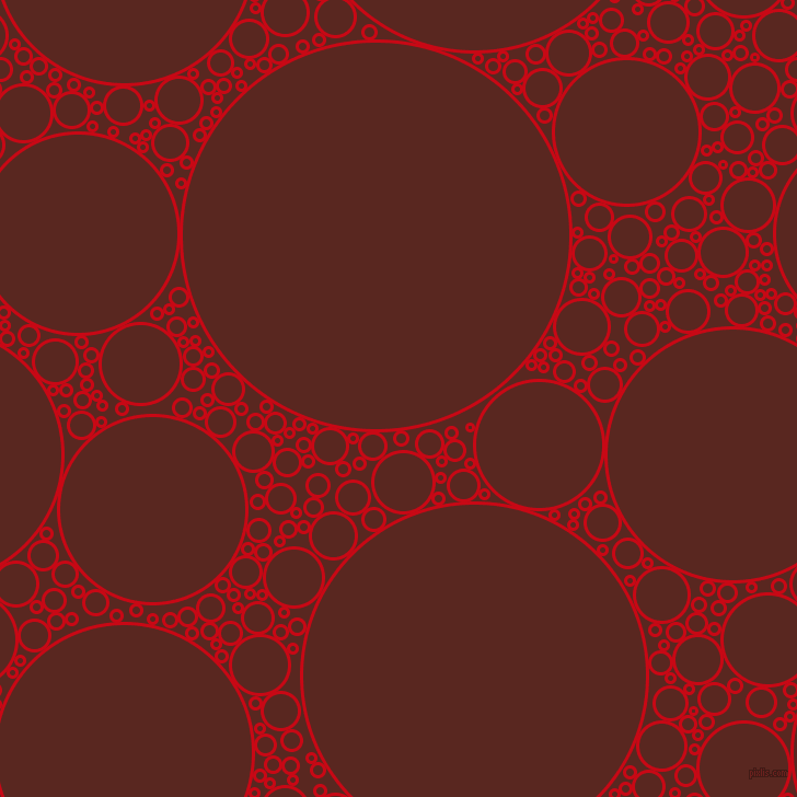 bubbles, circles, sponge, big, medium, small, 3 pixel line width, Venetian Red and Caput Mortuum circles bubbles sponge soap seamless tileable