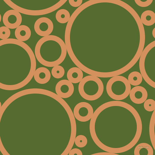 bubbles, circles, sponge, big, medium, small, 17 pixel line widthWhiskey Sour and Dark Olive Green circles bubbles sponge soap seamless tileable
