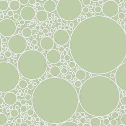 bubbles, circles, sponge, big, medium, small, 3 pixel line width, White Lilac and Pixie Green circles bubbles sponge soap seamless tileable