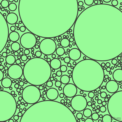 bubbles, circles, sponge, big, medium, small, 3 pixel line width, Zeus and Pale Green circles bubbles sponge soap seamless tileable