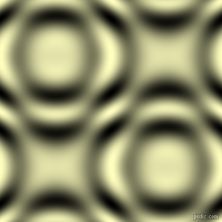 Cream and Black and White circular plasma waves seamless tileable