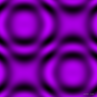 , Electric Purple and Black and White circular plasma waves seamless tileable