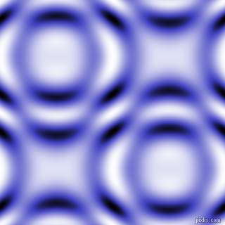 , Free Speech Blue and Black and White circular plasma waves seamless tileable