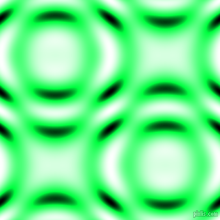 Free Speech Green and Black and White circular plasma waves seamless tileable