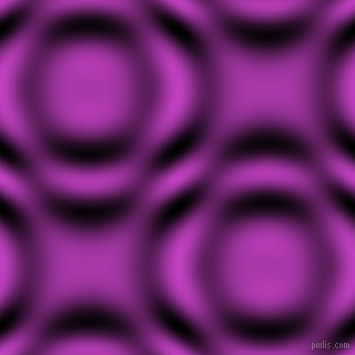 , Fuchsia and Black and White circular plasma waves seamless tileable