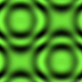 Green Yellow and Black and White circular plasma waves seamless tileable