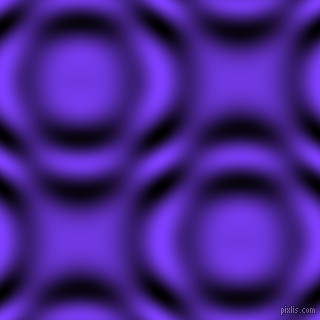 , Han Purple and Black and White circular plasma waves seamless tileable