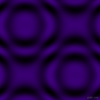 , Indigo and Black and White circular plasma waves seamless tileable