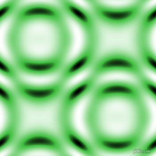 , Lime Green and Black and White circular plasma waves seamless tileable