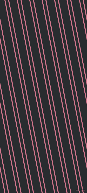 101 degree angles dual stripes line, 4 pixel line width, 10 and 29 pixels line spacing, dual two line striped seamless tileable