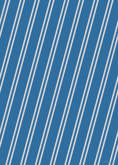 75 degree angles dual stripe lines, 5 pixel lines width, 6 and 30 pixels line spacing, dual two line striped seamless tileable