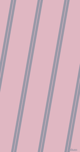 80 degree angles dual stripes lines, 10 pixel lines width, 2 and 89 pixels line spacing, dual two line striped seamless tileable