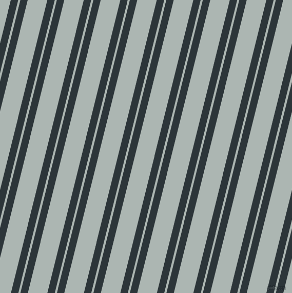 76 degree angles dual striped lines, 14 pixel lines width, 4 and 37 pixels line spacing, dual two line striped seamless tileable
