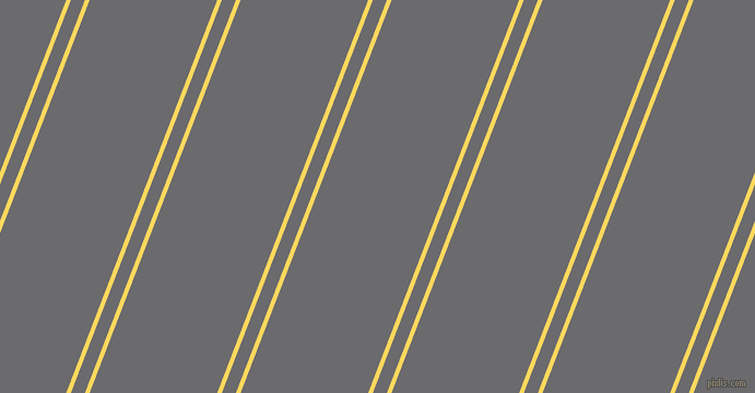 69 degree angle dual stripes line, 4 pixel line width, 12 and 109 pixel line spacing, dual two line striped seamless tileable