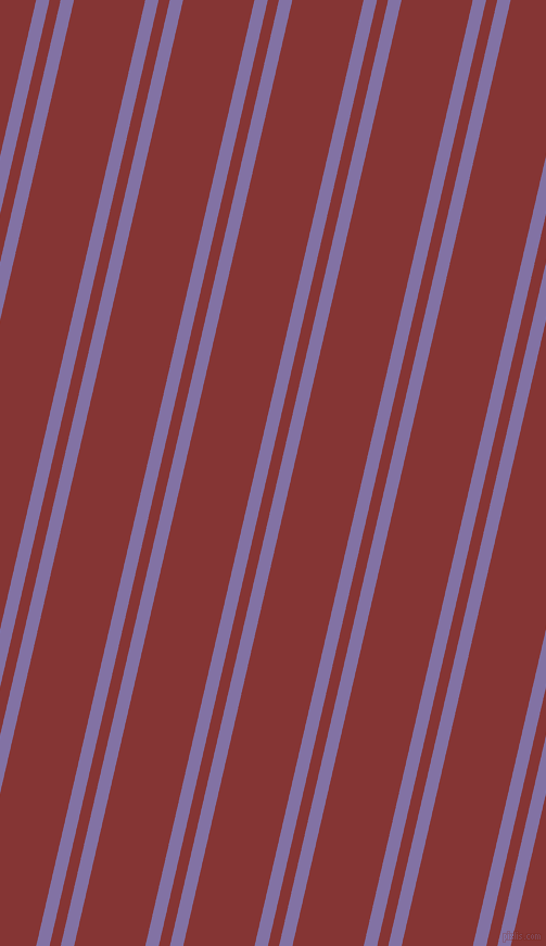 77 degree angles dual striped line, 12 pixel line width, 10 and 64 pixels line spacing, dual two line striped seamless tileable