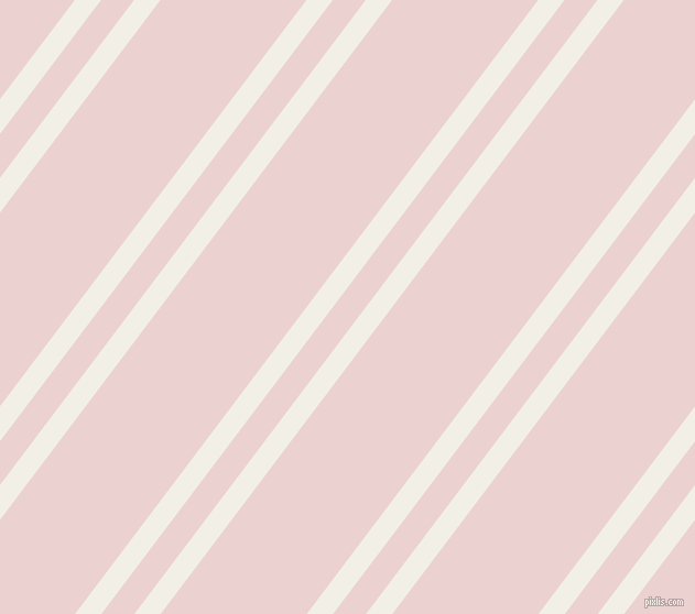 53 degree angle dual striped lines, 19 pixel lines width, 24 and 106 pixel line spacing, Alabaster and Vanilla Ice dual two line striped seamless tileable