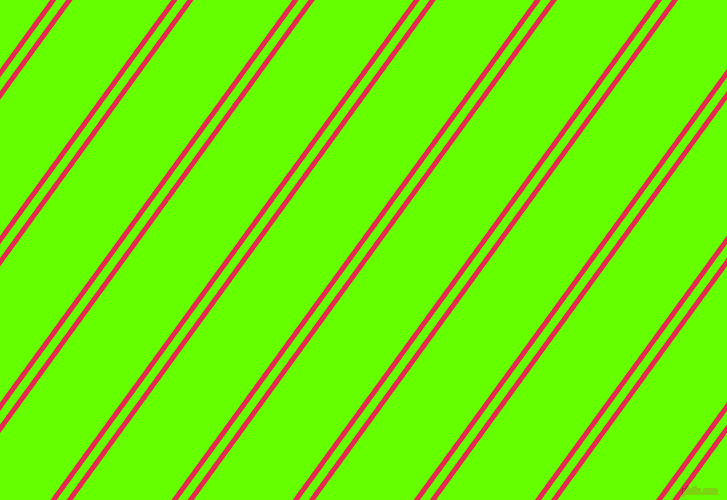 54 degree angle dual stripe lines, 5 pixel lines width, 8 and 80 pixel line spacing, Amaranth and Bright Green dual two line striped seamless tileable