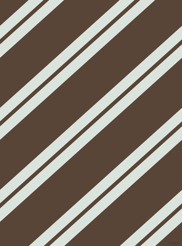 42 degree angle dual stripe line, 32 pixel line width, 12 and 119 pixel line spacing, Aqua Squeeze and Brown Derby dual two line striped seamless tileable
