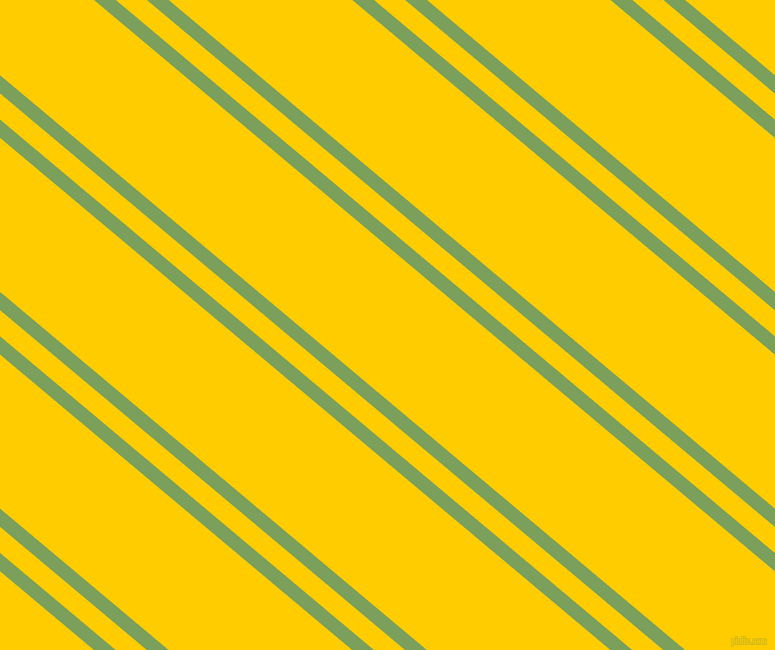140 degree angles dual stripe lines, 14 pixel lines width, 20 and 118 pixels line spacing, Asparagus and Tangerine Yellow dual two line striped seamless tileable