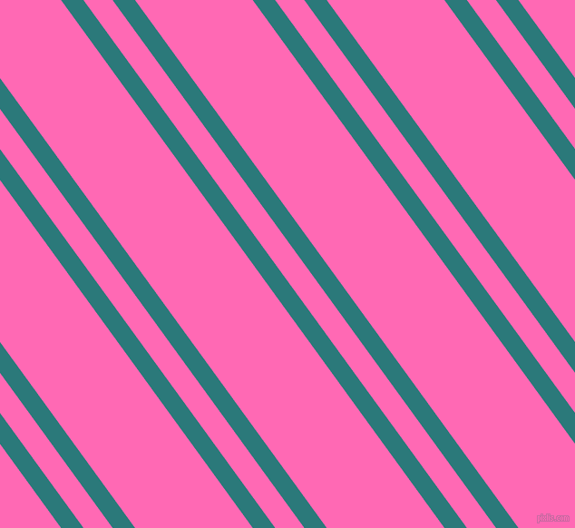 126 degree angles dual stripes lines, 20 pixel lines width, 26 and 105 pixels line spacing, Atoll and Hot Pink dual two line striped seamless tileable