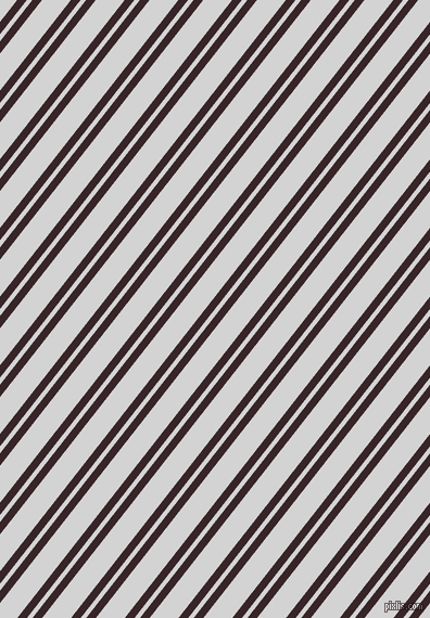 52 degree angles dual stripe lines, 7 pixel lines width, 4 and 21 pixels line spacing, Aubergine and Light Grey dual two line striped seamless tileable