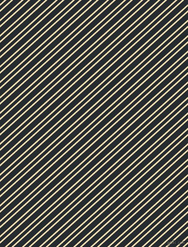 42 degree angle dual striped line, 3 pixel line width, 6 and 11 pixel line spacing, Beeswax and Blue Charcoal dual two line striped seamless tileable