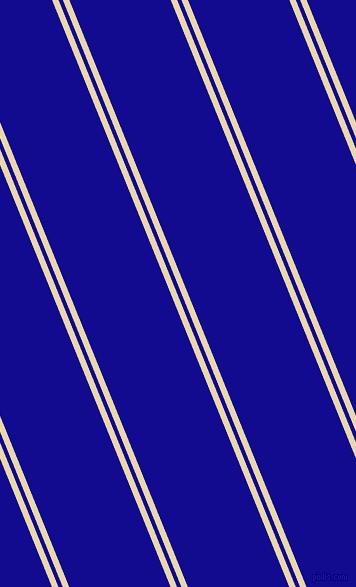 112 degree angle dual stripe line, 6 pixel line width, 4 and 94 pixel line spacing, Beeswax and Ultramarine dual two line striped seamless tileable