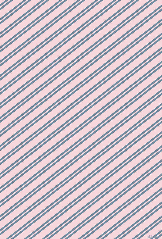 38 degree angles dual stripes lines, 6 pixel lines width, 4 and 21 pixels line spacing, Bermuda Grey and Cherub dual two line striped seamless tileable