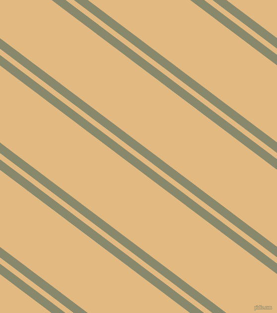 143 degree angles dual stripe line, 17 pixel line width, 10 and 124 pixels line spacing, Bitter and Maize dual two line striped seamless tileable