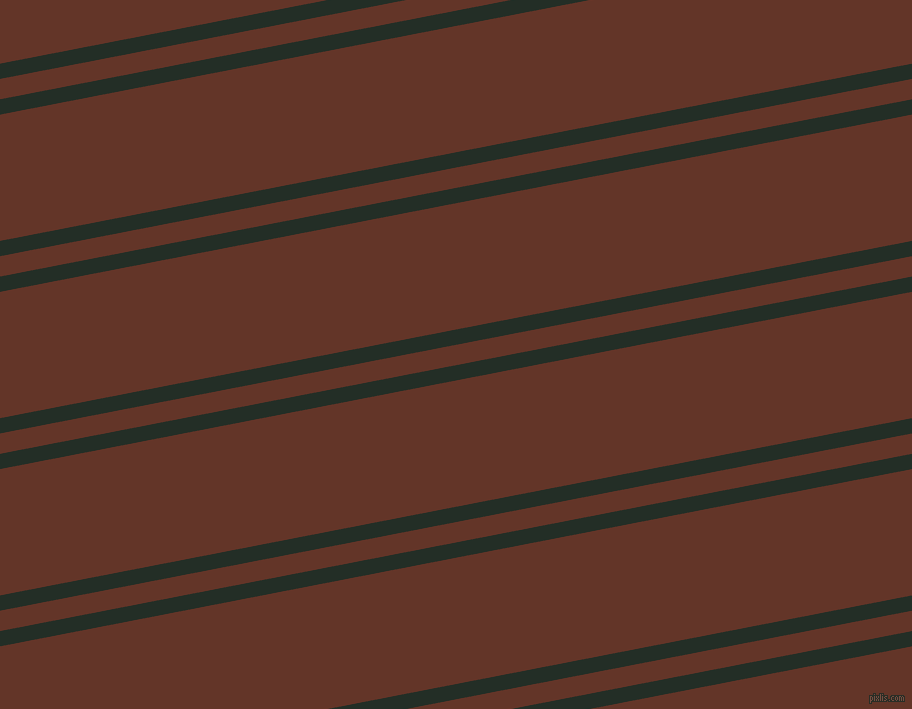 11 degree angles dual striped line, 15 pixel line width, 20 and 124 pixels line spacing, Black Bean and Hairy Heath dual two line striped seamless tileable