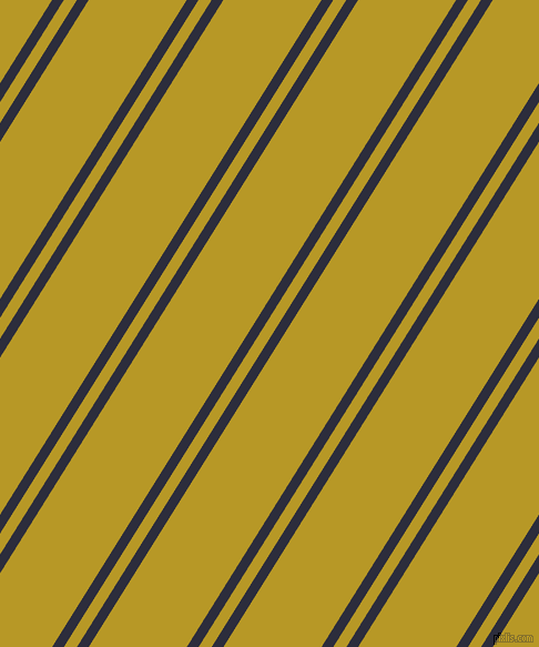 58 degree angle dual stripe line, 9 pixel line width, 10 and 75 pixel line spacing, Black Rock and Sahara dual two line striped seamless tileable