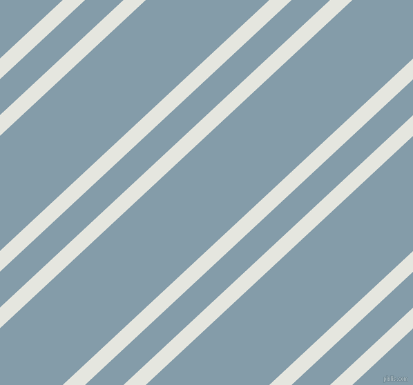 43 degree angles dual striped line, 22 pixel line width, 38 and 122 pixels line spacing, Black Squeeze and Bali Hai dual two line striped seamless tileable