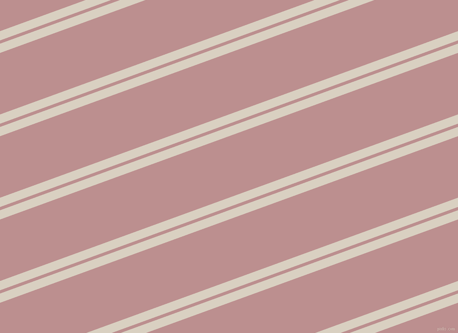 20 degree angle dual stripe lines, 17 pixel lines width, 6 and 113 pixel line spacing, Blanc and Rosy Brown dual two line striped seamless tileable