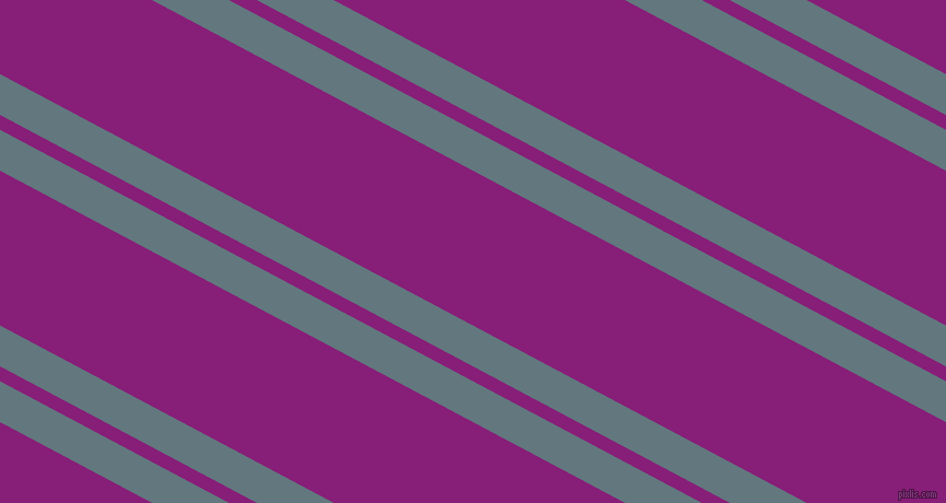 152 degree angles dual striped lines, 33 pixel lines width, 12 and 125 pixels line spacing, Blue Bayoux and Dark Purple dual two line striped seamless tileable