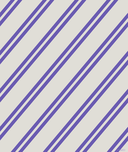 50 degree angle dual stripe line, 14 pixel line width, 10 and 66 pixel line spacing, Blue Marguerite and Black Haze dual two line striped seamless tileable