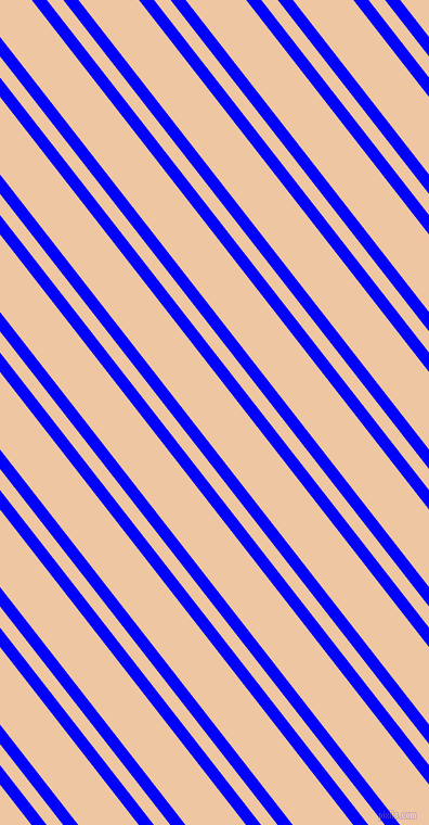 128 degree angles dual striped lines, 11 pixel lines width, 12 and 44 pixels line spacing, Blue and Negroni dual two line striped seamless tileable
