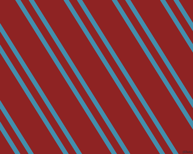 122 degree angles dual stripe line, 17 pixel line width, 26 and 95 pixels line spacingBoston Blue and Mandarian Orange dual two line striped seamless tileable