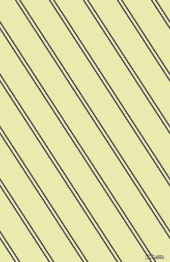 123 degree angle dual stripes lines, 3 pixel lines width, 4 and 46 pixel line spacing, Bright Grey and Medium Goldenrod dual two line striped seamless tileable