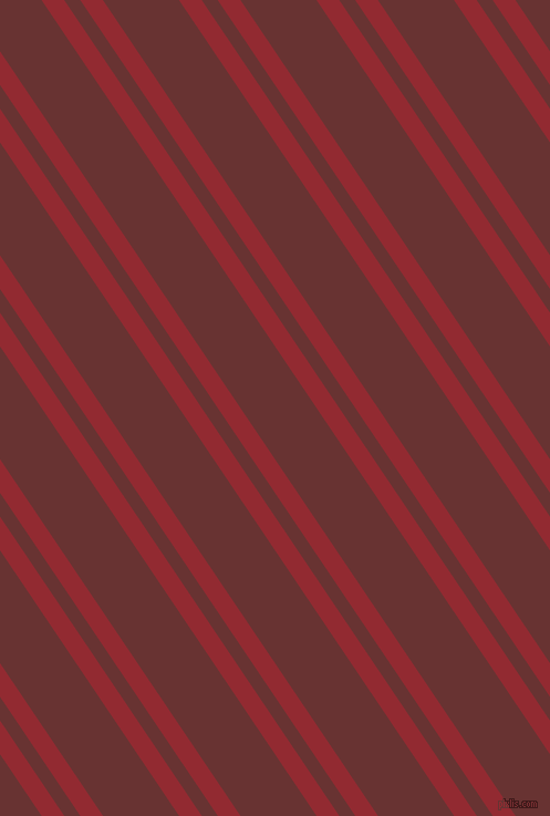 124 degree angles dual striped lines, 17 pixel lines width, 12 and 57 pixels line spacing, Bright Red and Persian Plum dual two line striped seamless tileable