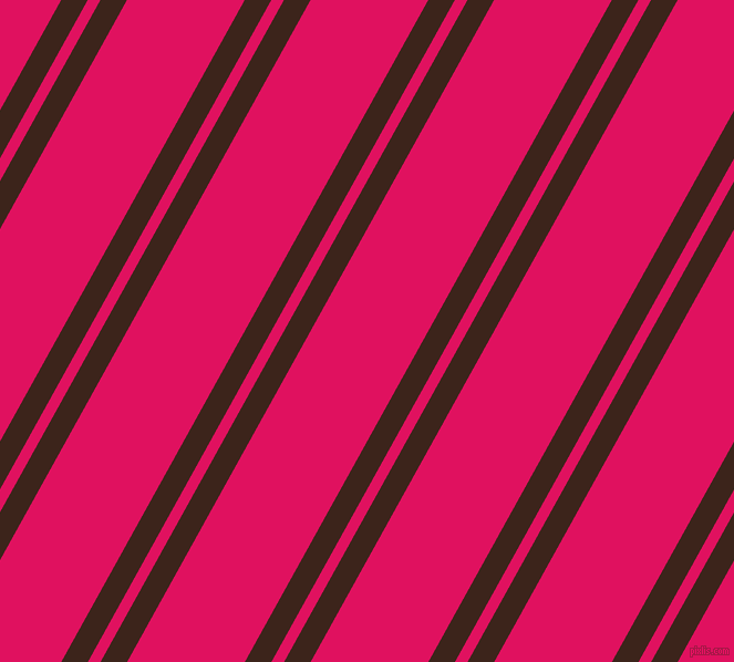 61 degree angles dual striped line, 21 pixel line width, 10 and 93 pixels line spacing, Brown Pod and Ruby dual two line striped seamless tileable