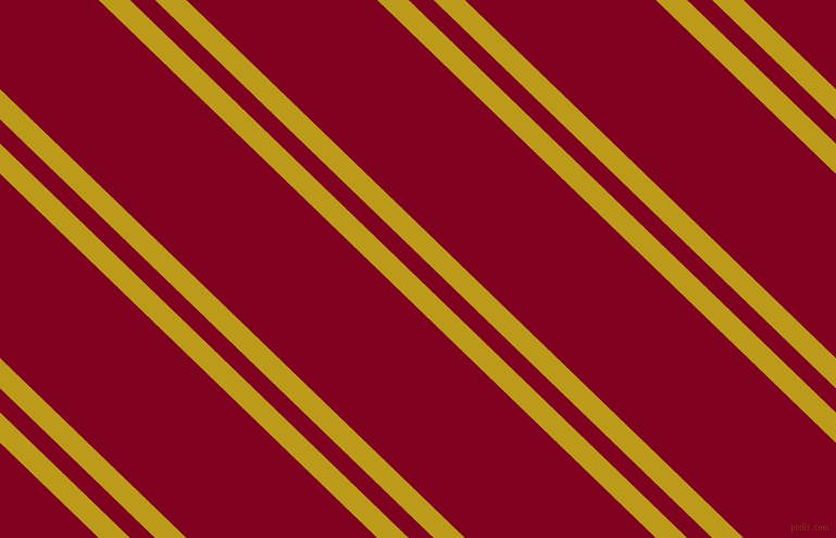 136 degree angle dual stripes lines, 20 pixel lines width, 16 and 122 pixel line spacing, Buddha Gold and Burgundy dual two line striped seamless tileable
